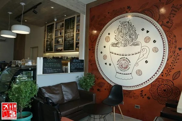 Couch seating at The Daily Beans Antipolo
