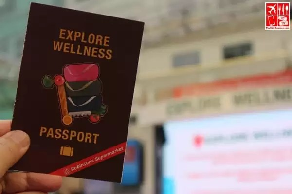 Get an Explore Wellness passport at Robinsons Supermarket