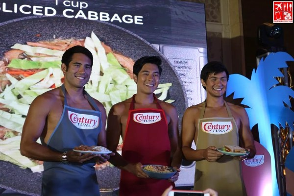 Gerald, Paulo, and Matteo Shares Century Tuna Recipe to Sexy