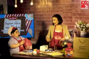 Baeby Baste and Mommy Shiela endorses Neubake Super Slice