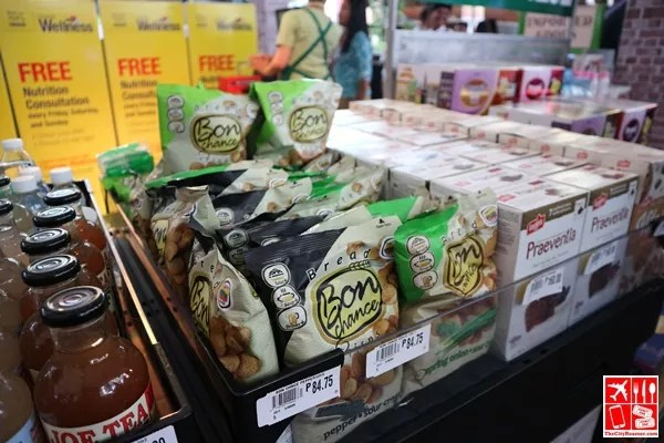 Snack Items on sale at Robinsons Supermarket Learn Wellness event