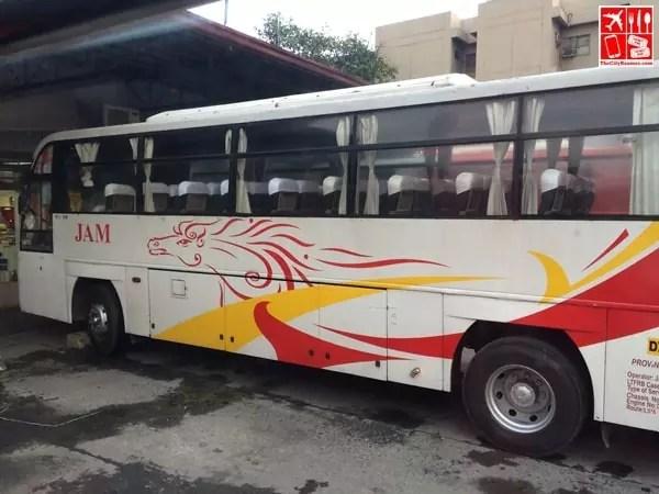 A Jam Liner Bus