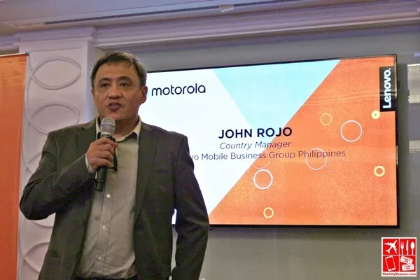 John Rojo - Lenovo Mobile Business Group Philippines Country Manager