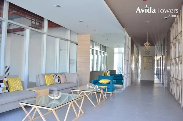 Avida Towers Altura Tower 1 lobby