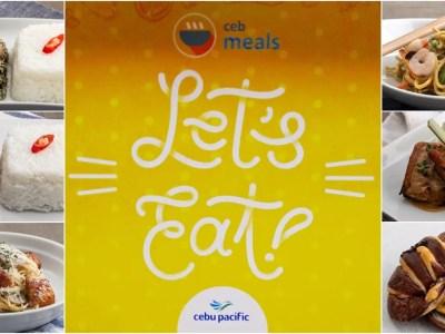 Cebu Pacific inflight menu unveiled