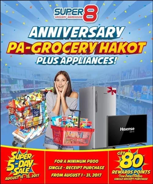 Pa-grocery hakot is Super8 Super Blowout