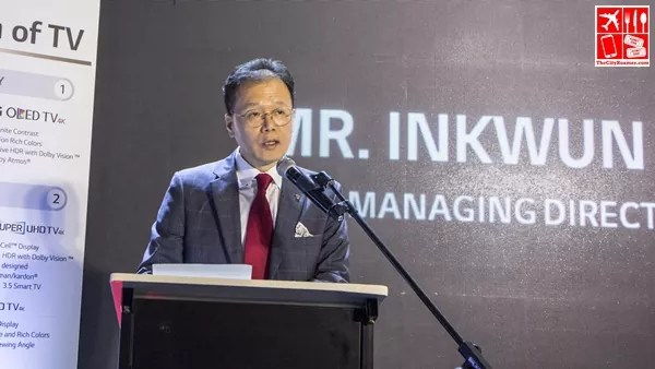 Inkwun Heo - LG Philippines Managing Director