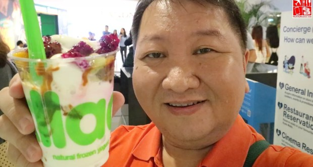 Frozen Yogurt Goodness at Llao Llao Trinoma