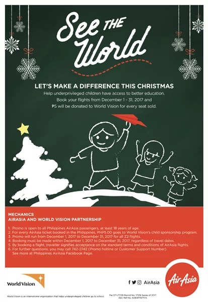 AirAsia & World Vision See The World