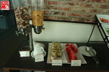 Breakfast options at Mi Tapas