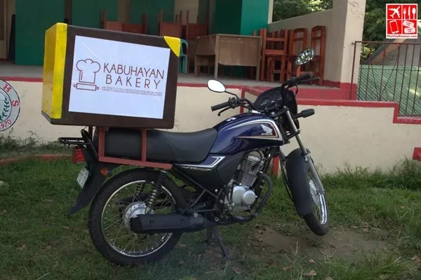 Honda Philippines donated a motorcycle to deliver breads