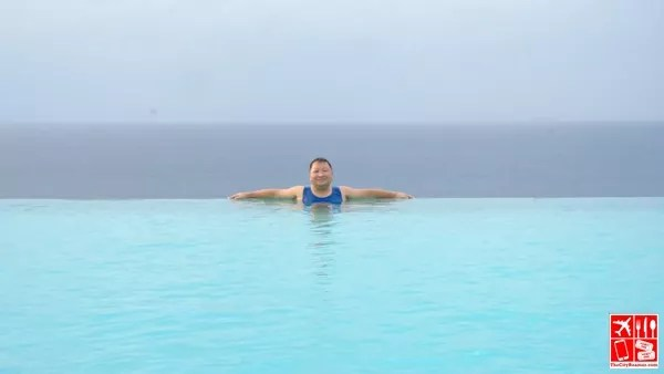 Lounging at the infinity pool of Punta Verde Resort