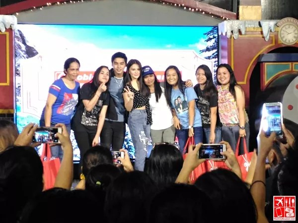 #McLisse fans participated in fun games