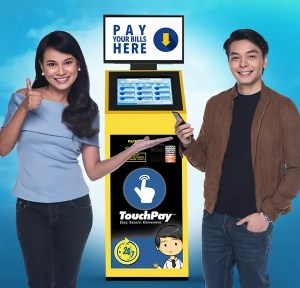 Pay bills with TouchPay