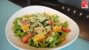 Refreshing salad at Teppan 101