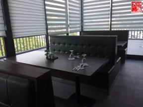 Seating area of Mi Tapas