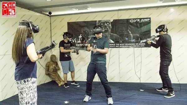VR Entertainment Room