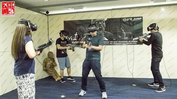 VR Entertainment Room