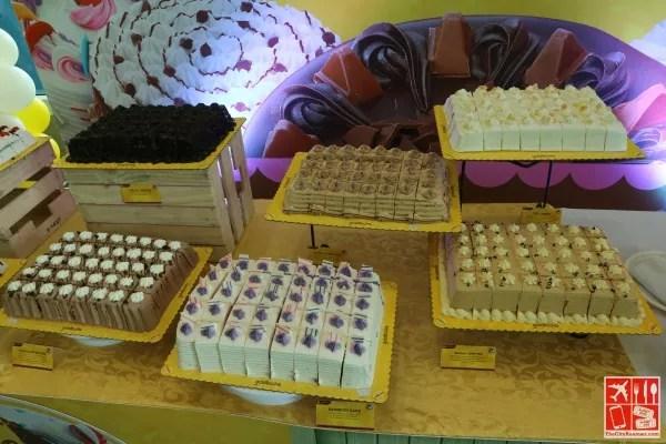 Cake spread at the Goldilocks National Cake Day in Goldilocks SM City Batangas