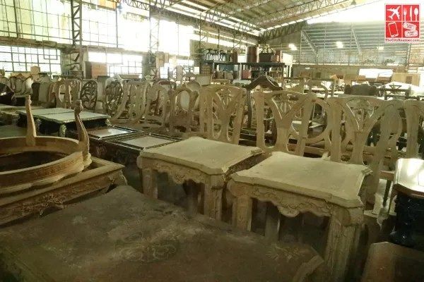 Furnitures and other works in progress at JB Betis Woodcraft