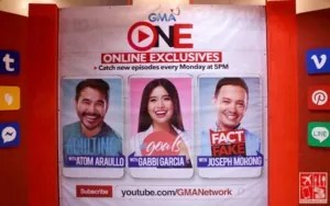 GMA ONE (Online Exclusives) featuring Atom Araullo, Gabbi Garcia, and Joseph Morong
