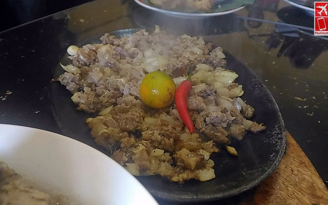 The famous Sisig by Aling Lusing