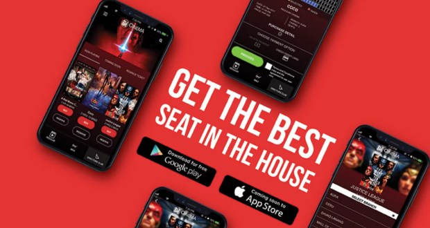 Get the Best Seat in the House with SM Cinema App