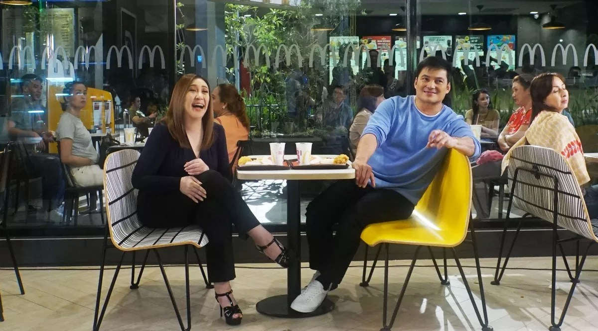 Sharon and Gabby reunite in McDonald's TVC