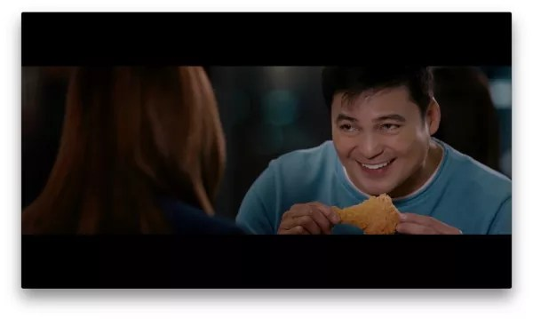 Gabby Concepcion eating McDonald_s Best Tasting Chicken McDo