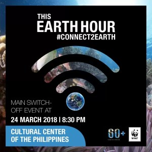 Earth Hour 2018 #Connect2Earth