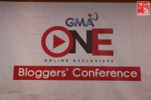 GMA ONE - Online Exclusives Bloggers' Conference