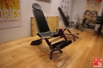 Legs Extension machine at Curves Magnolia