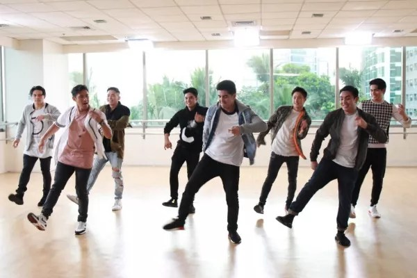 Dance Rehearsals for the new GMA Network Station ID