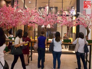 Spring at BAKE Cheese Tart The Podium Mall