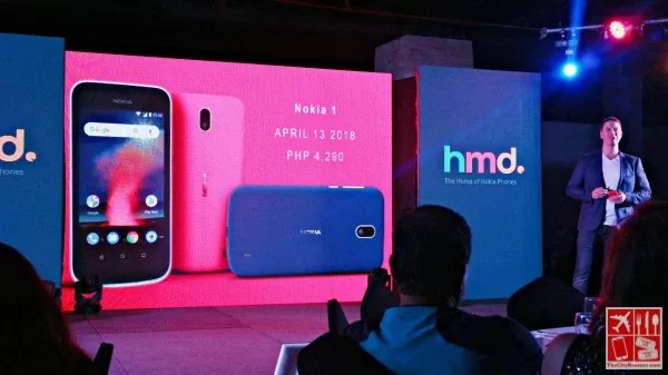 The Nokia 1 is priced at Php4290
