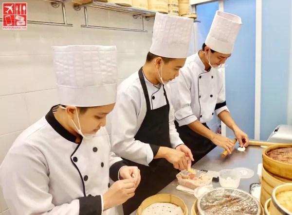 All of Bai Nian Tang Bao's Xiao Long Bao are prepared fresh in their kitchens