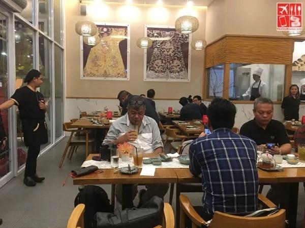 Bai Nian Tang Bao restaurant has a bright and casual ambiance