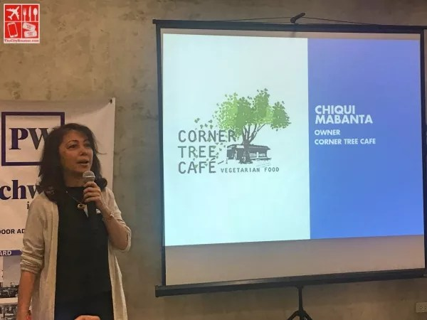 Chiqui Mabanta is owner and general manager of Corner Tree Café