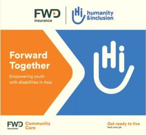Forward Together by FWD and Humanity & Inclusion to help young PWDs