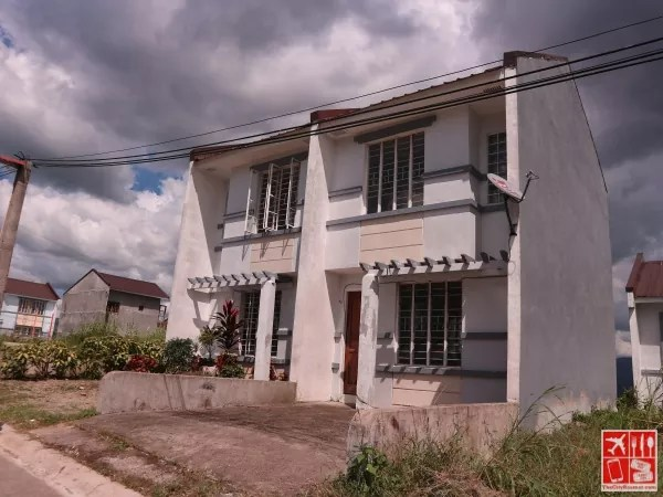 One of the houses in Metro Manila Hills