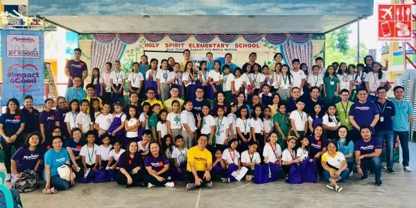 Mondelez Philippines Joy Schools Group Picture