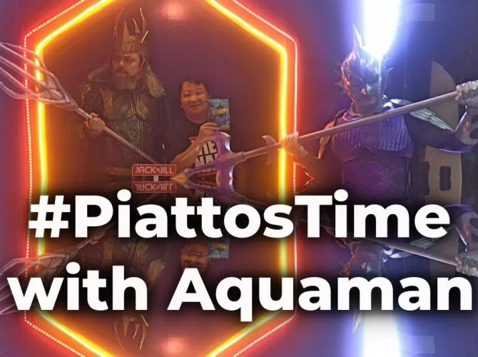 Piattos Time with Aquaman