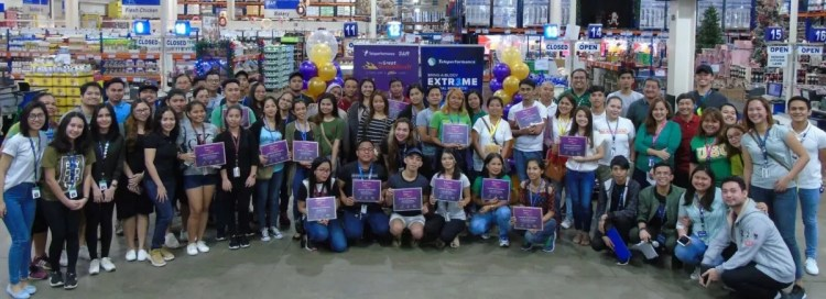 Teleperformance Philippines GroceRush event