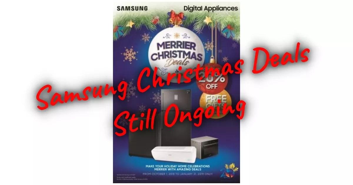 samsung Christmas deals
