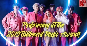 BTS and Halsey Performing at 2019 Billboard Music Awards