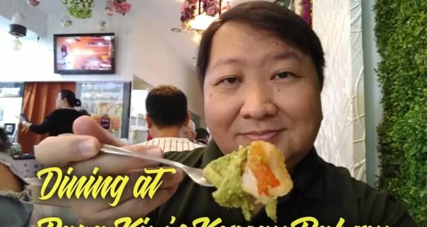 Dining at Papa Kim's Korean Bakery
