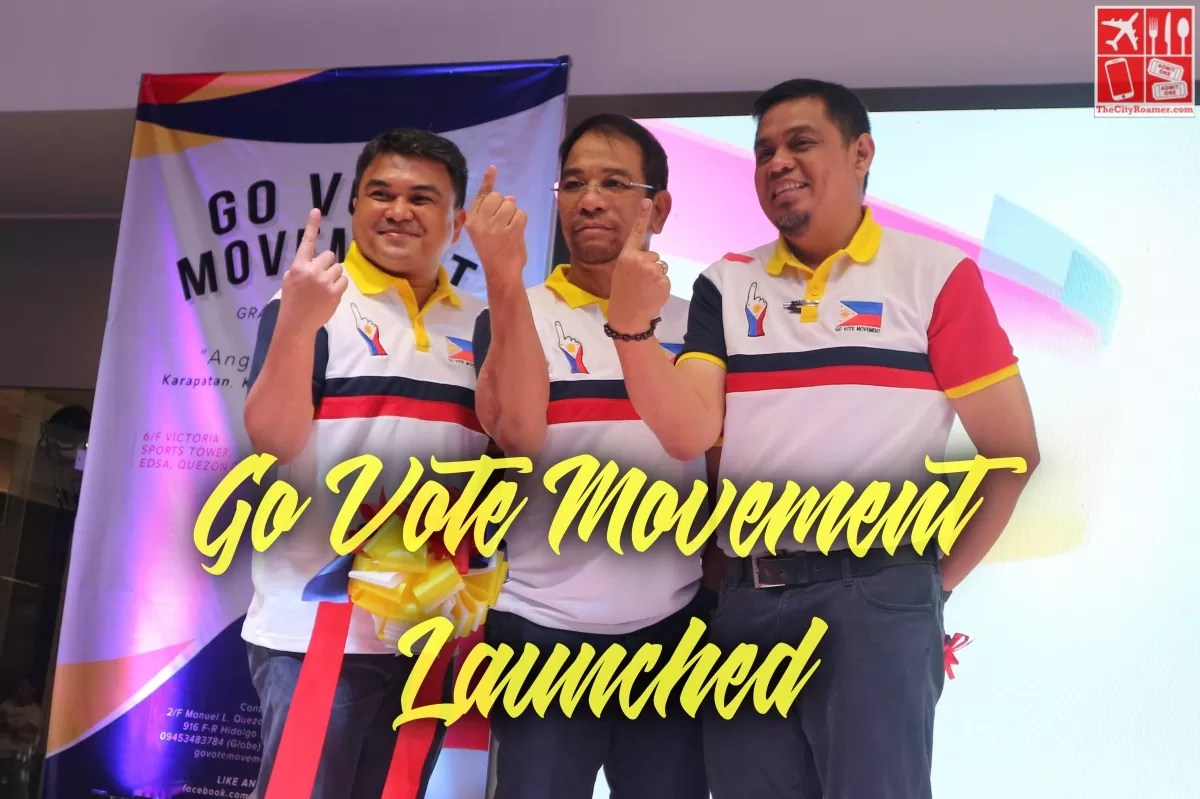 Go Vote Movement Launched