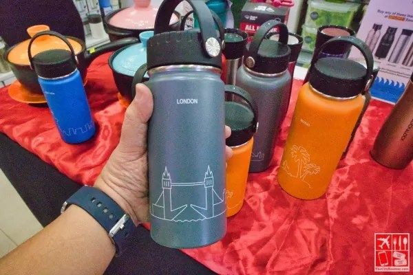 Lock&Lock Stainless Steel Tumbler feat London