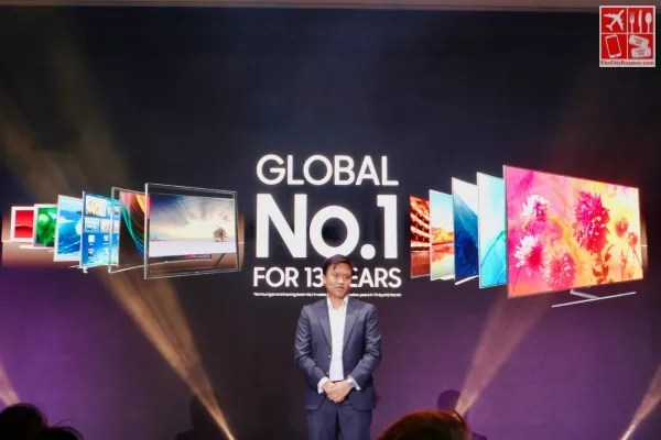 Samsung has been been producing the World's Number 1 TV for 13 years
