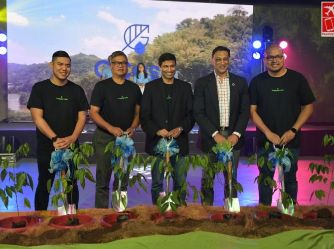 GCash Executives and Partner Representatives at the GCash Forest Launch